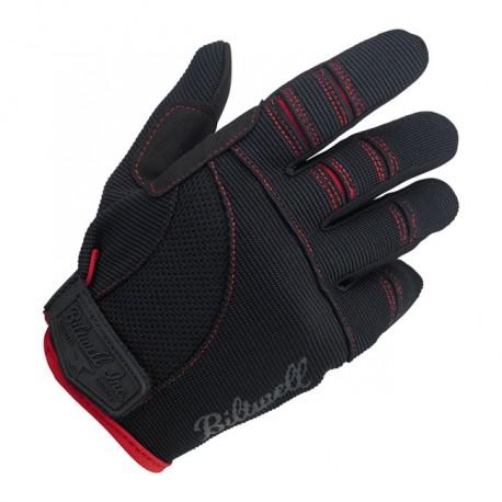 GUANTES BILTWELL MOTO GLOVES BLACK/RED