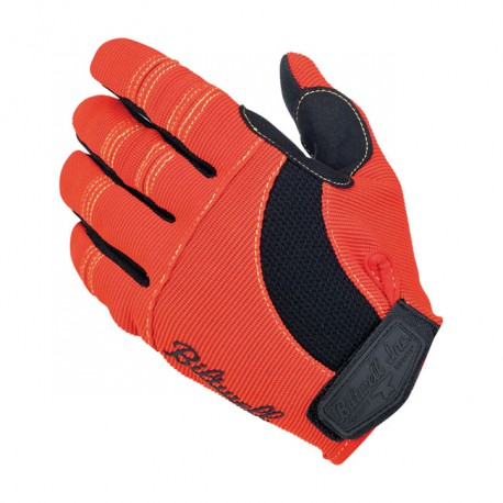 GUANTES BILTWELL MOTO GLOVES ORANGE/BLACK/YELLOW