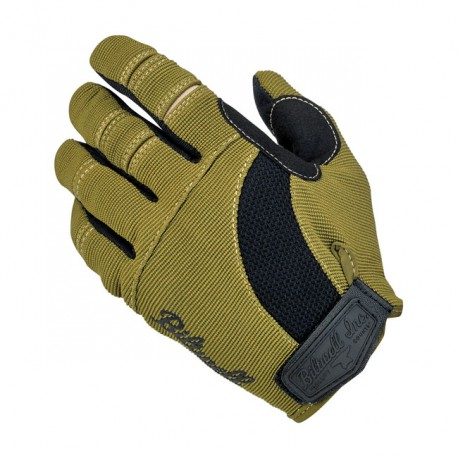 GUANTES BILTWELL MOTO GLOVES OLIVE/BLACK/TAN