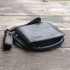 CARTERA TRIP MACHINE NEGRA